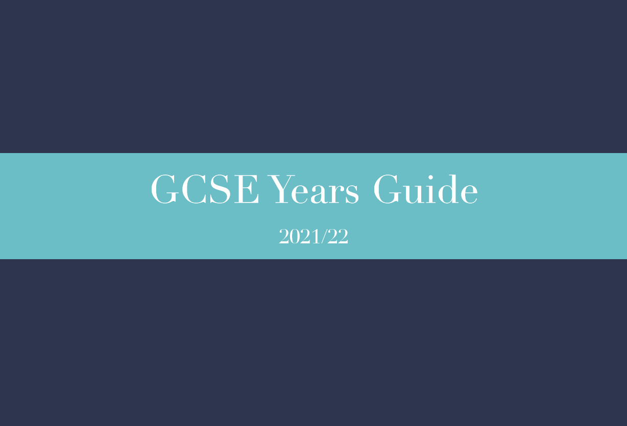 GCSE Years Guide