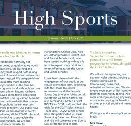 High Sports: Summer 2021